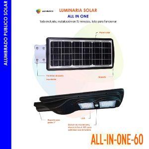 Lámpara solar todo en uno 60 W LM