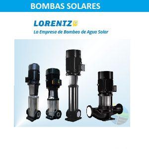 Bombas solares de superficie Lorentz
